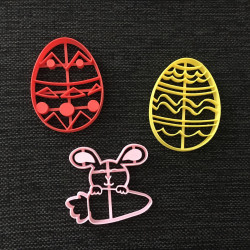 Eggs and Rabbit - Easter